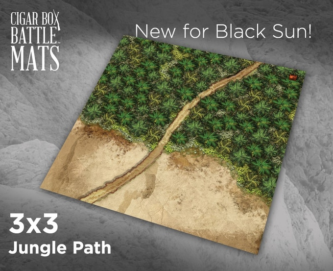 91806 Jungle Path Terrain Mat