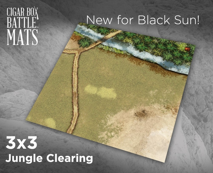 91807 Jungle Clearing Terrain Mat
