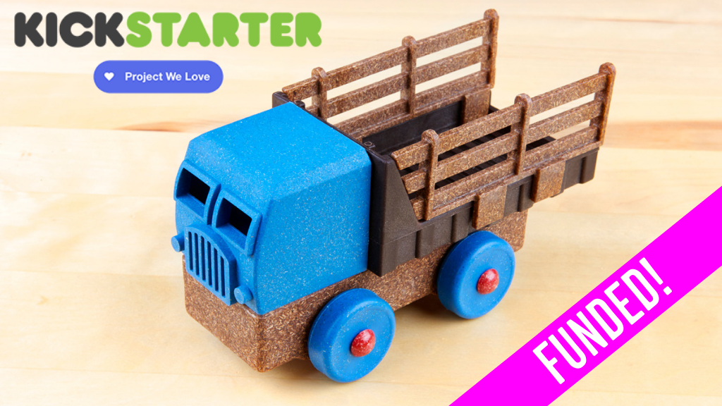 Luke's Toy Factory: Sustainable, American Made Toys project video thumbnail