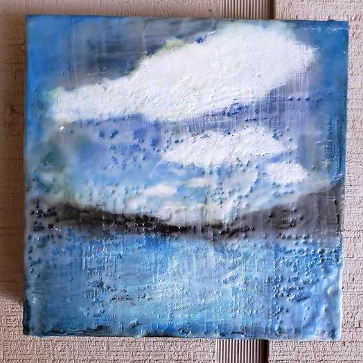 Sample Art: Lake Clouds