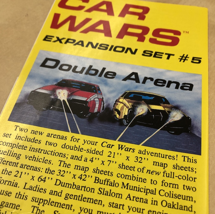 Car Wars Expansion Set 5.