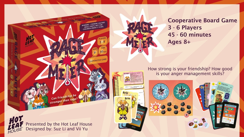 Project image for Rage-o-Meter (Board Game)