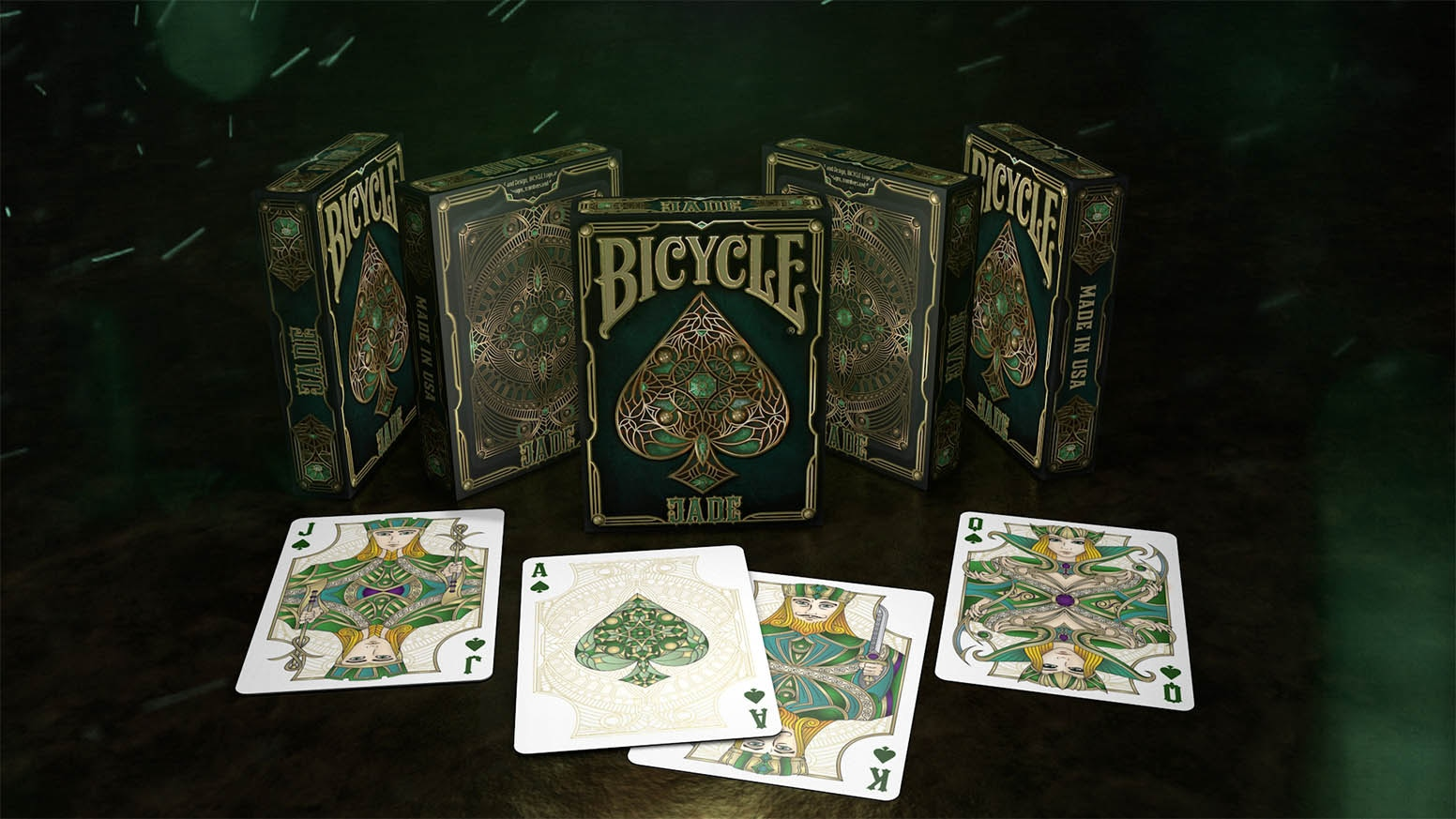 A jewel designed by Shapeshifters, printed by the USPCC &produced by Gambler's Warehouse.