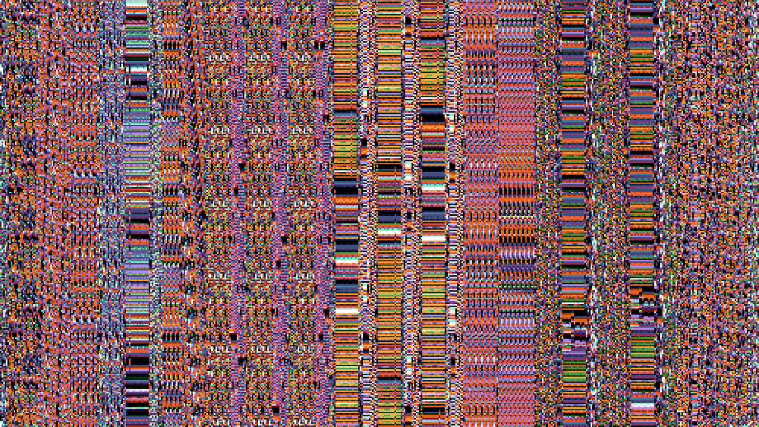 A collection of jacquard woven cotton blankets whose designs are made by visualizing malware samples captured in the wild.