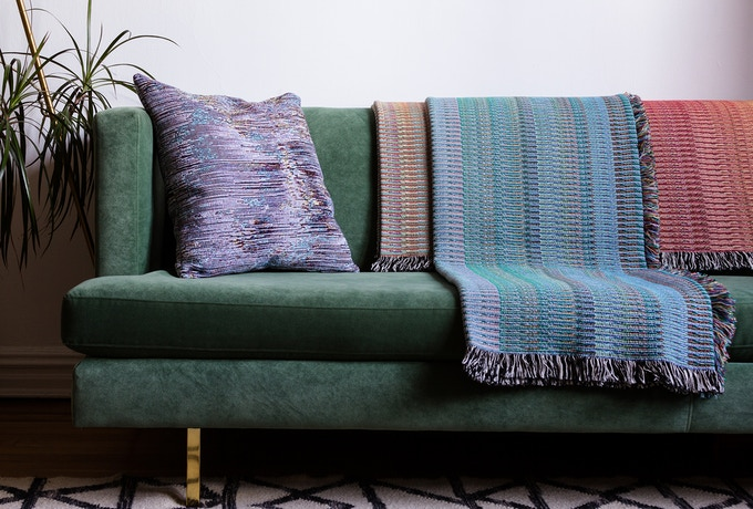 Example of goods by Glitch Textiles