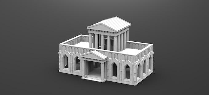 Roman Gothic Temple