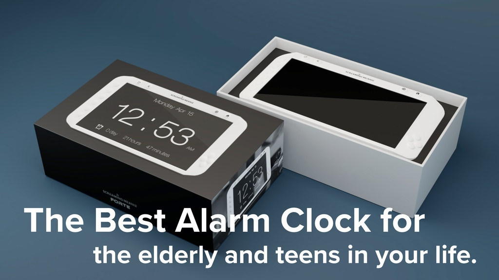 Forte - The Smartest and Loudest Alarm Clock project video thumbnail