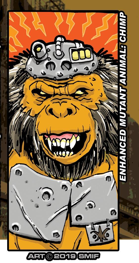 It's ALWAYS an ape!!!