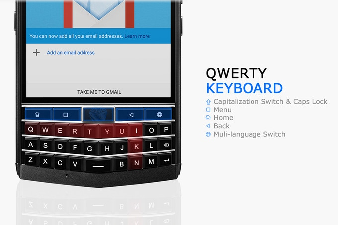Redesigned QWERTY Keyboard