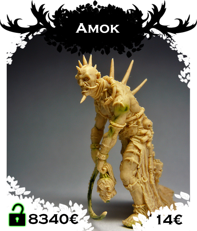 Amok, evil sorcerer, collector of eyes for the Cannibal faction. Click to see a turntable