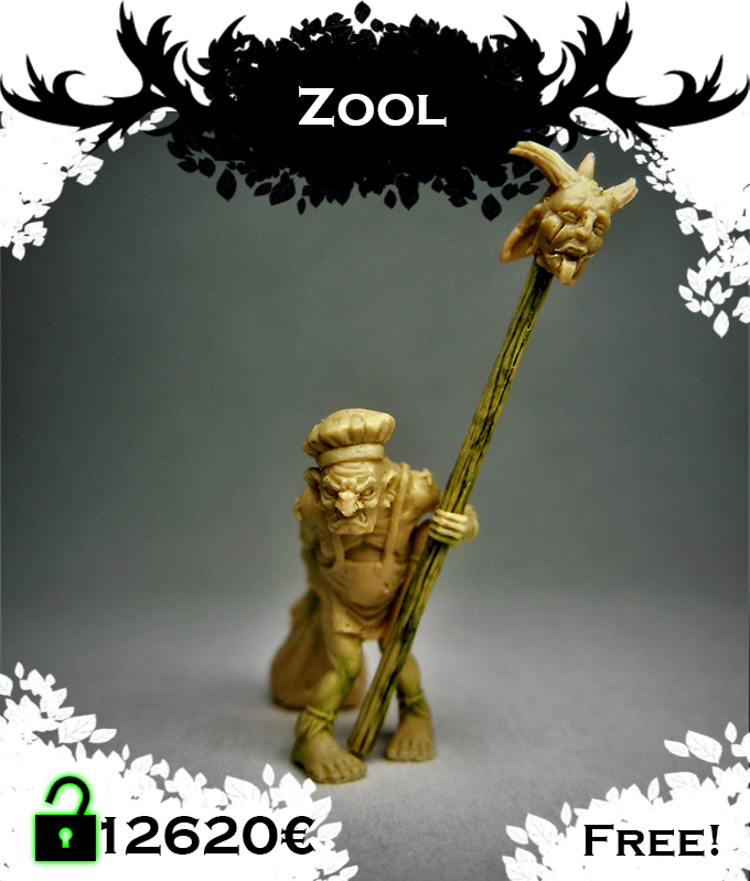 ZOOL, evil gnome, crucible of pain, mastercook of the Butcher, 20 mm. Click for more pictures.