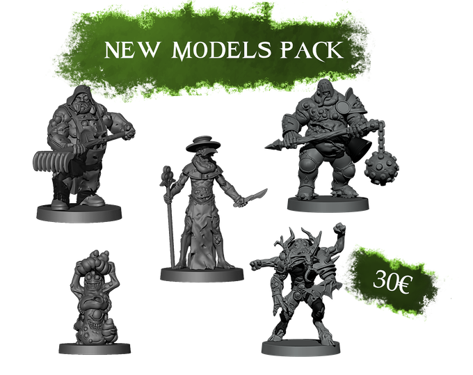 This pack includes all the new models for 5€ less than the individual price