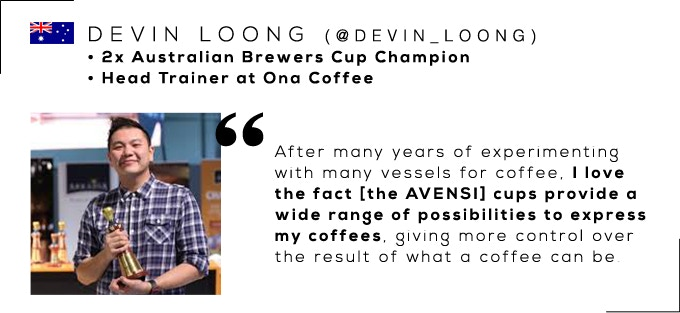 Devin Loong, 2x Australian Brewers Cup Champion