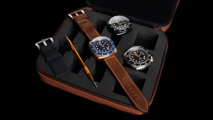 Leather Strap Pack
