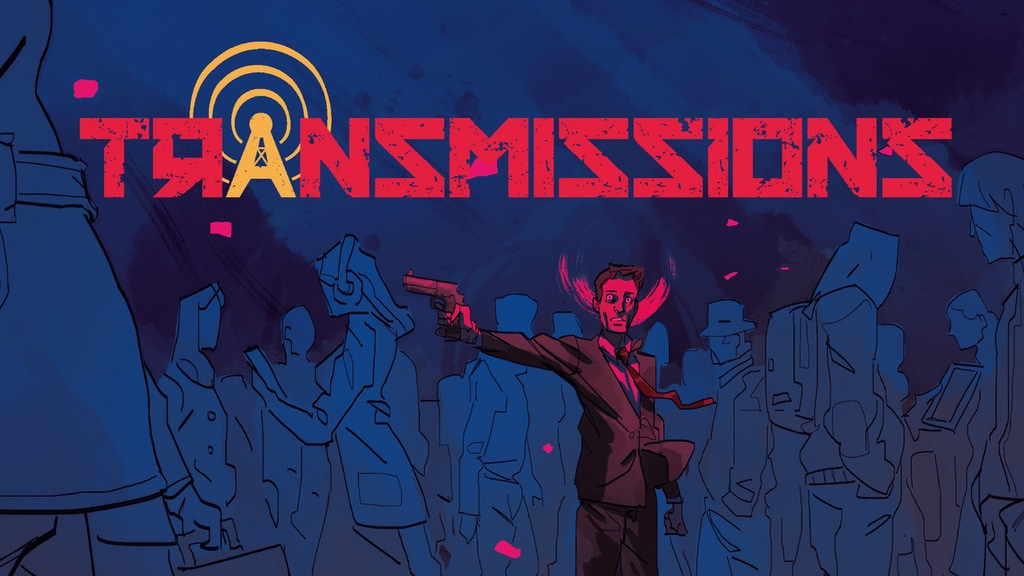Transmissions - An espionage graphic novel project video thumbnail
