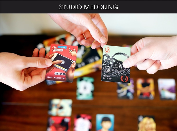 Play Studio cards to help your movie or use your Influence to sabotage others