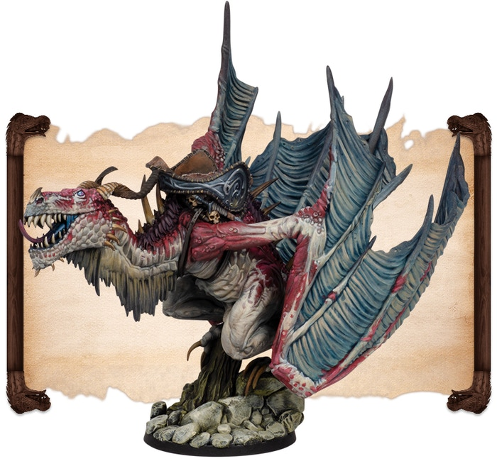 Thorn Beast painted by Fabrizio Russo.  Note that figures come UNPAINTED.