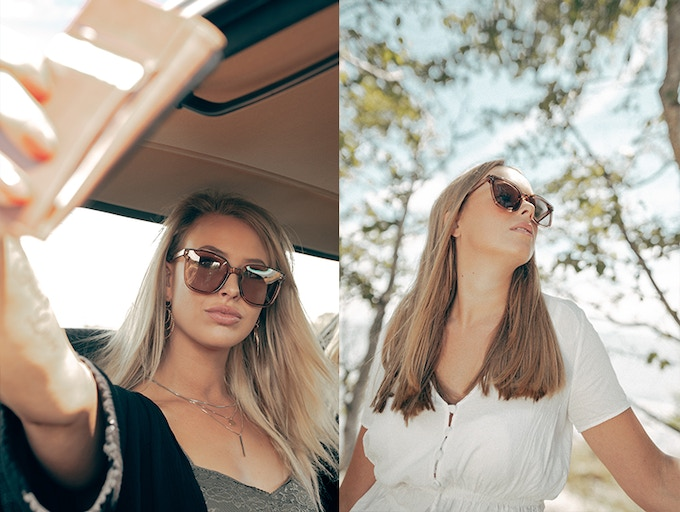 Where the outdoor, on the go, lifestyle meets wooden rustic tones. Sunglasses which fit into the life way live.