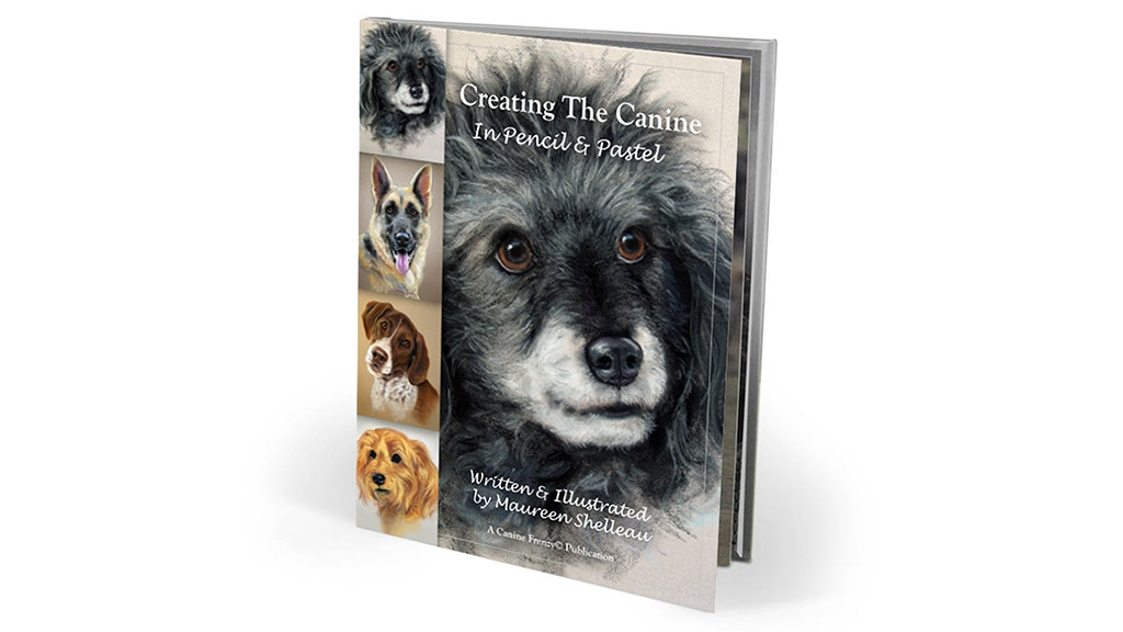 Project image for Creating The Canine in Pencil and Pastel by Maureen Shelleau