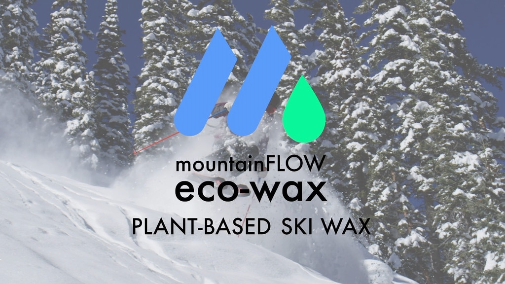 mountainFLOW | North America's Only Plant-Based Ski Wax! project video thumbnail