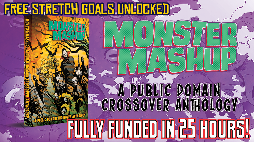Monster Mashup Comic Anthology project video thumbnail