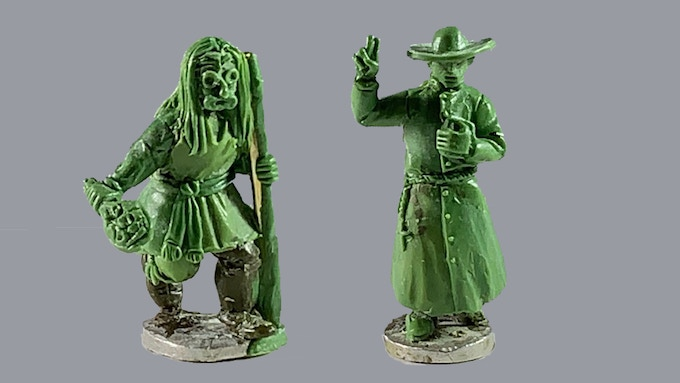 Exclusive False Face Society Shaman and Priest