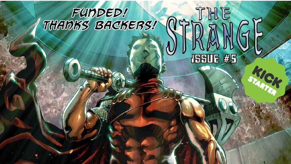 Project image for The Strange #5