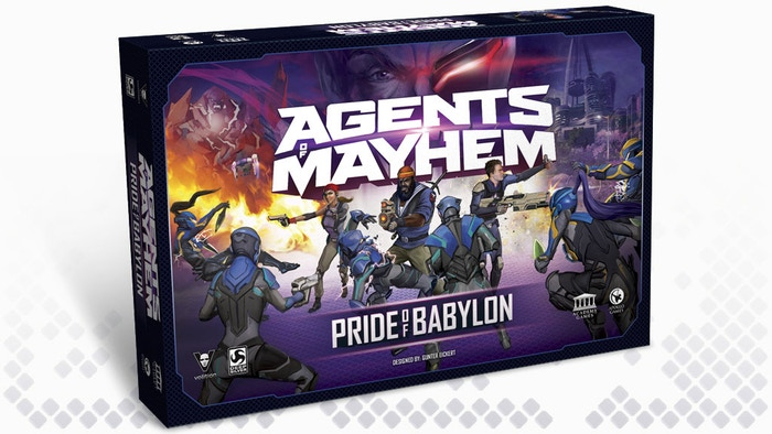 Pride of Babylon is a story-driven 3D tactical boardgame based on the newest video game in the Saint's Row universe - Agents of Mayhem.