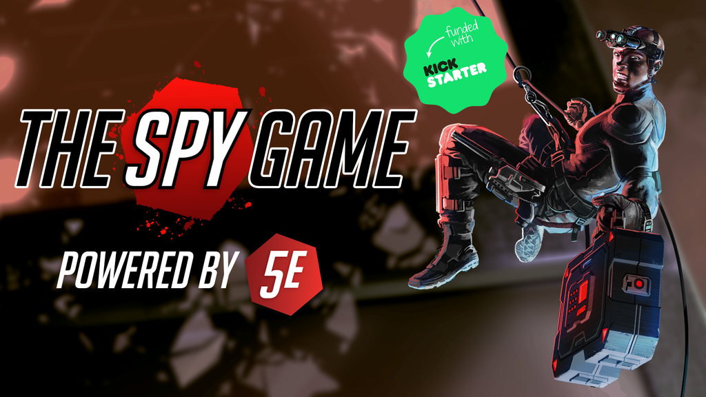 The Spy Game: 5th Edition Action/Espionage Roleplaying Game project video thumbnail