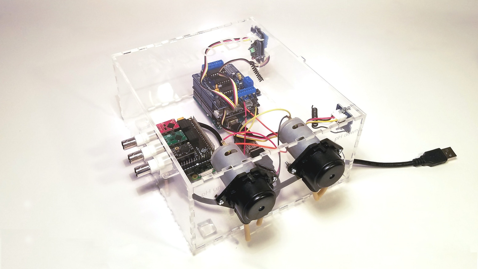 A small device that allows you to automate your hydroponics system. We're Making Hydroponics Accessible to everyone.