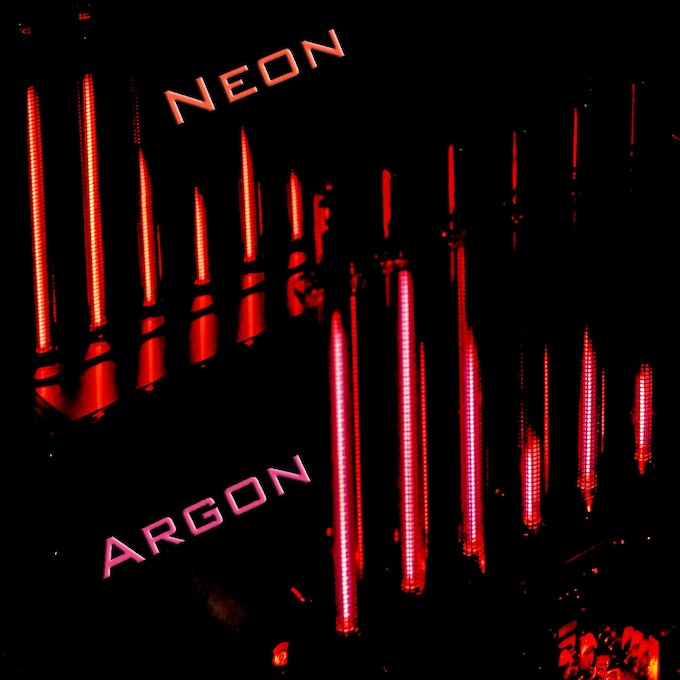 Both prototypes at night. The Argon type is only available through my homepage
