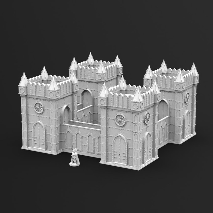 Freebie: Gothic Tower