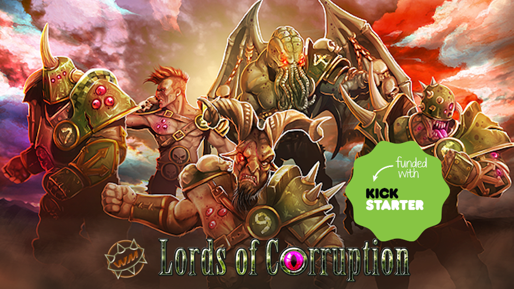 Project image for WILLY MINIATURES LORDS OF CORRUPTION 2.0