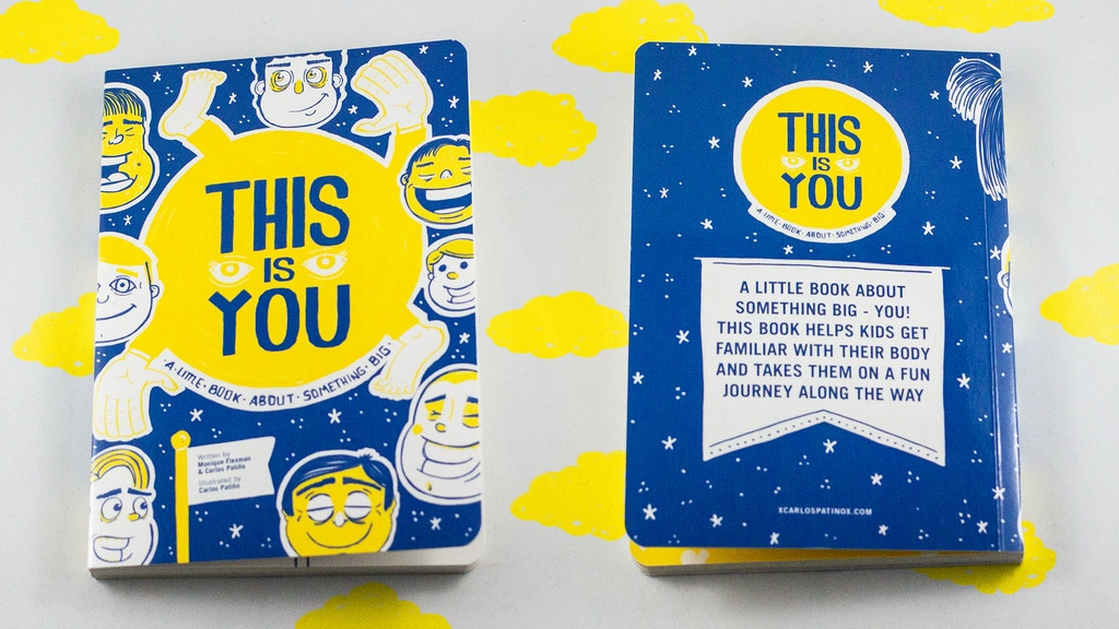 This is you, a little book about something big! project video thumbnail