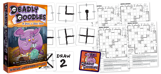 Deadly Doodles, available now!