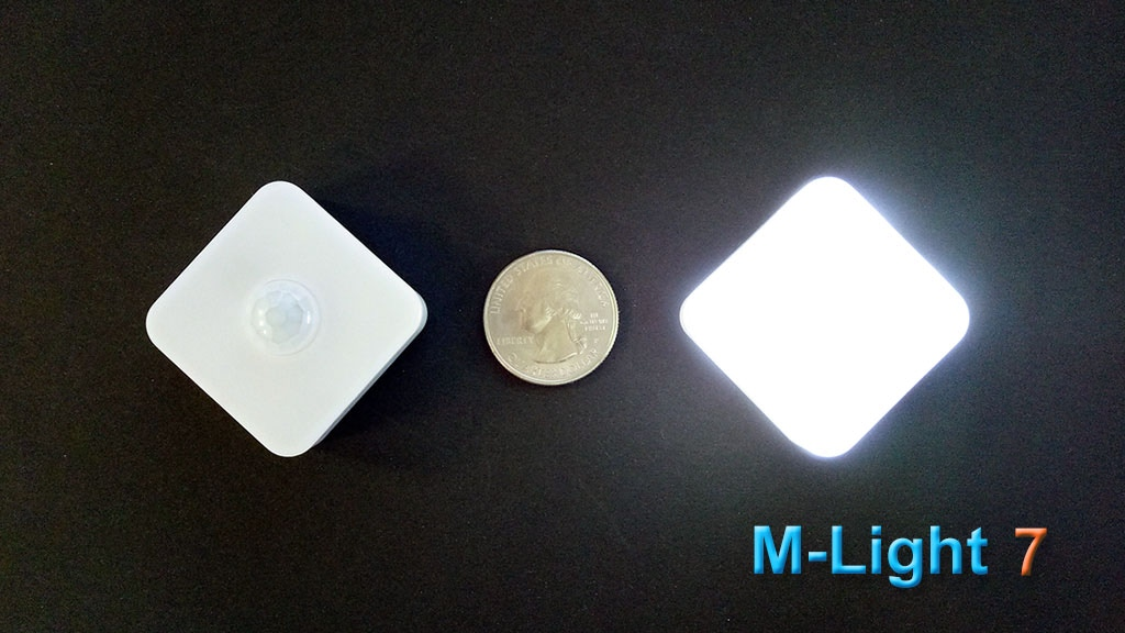 M-Light 7: A small adjustable motion sensor night light project video thumbnail