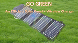 Click here to view GoGreen: An Efficient Solar Panel + Wireless Charger
