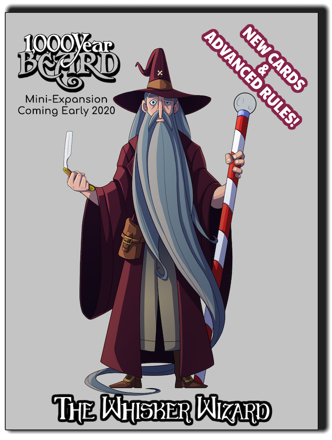 "Cards ""plucked"" from The Whisker Wizard (as part of the Stretch Goals) will become a permanent addition to the base game, making room for more exciting cards to be added to this mini-expansion!"