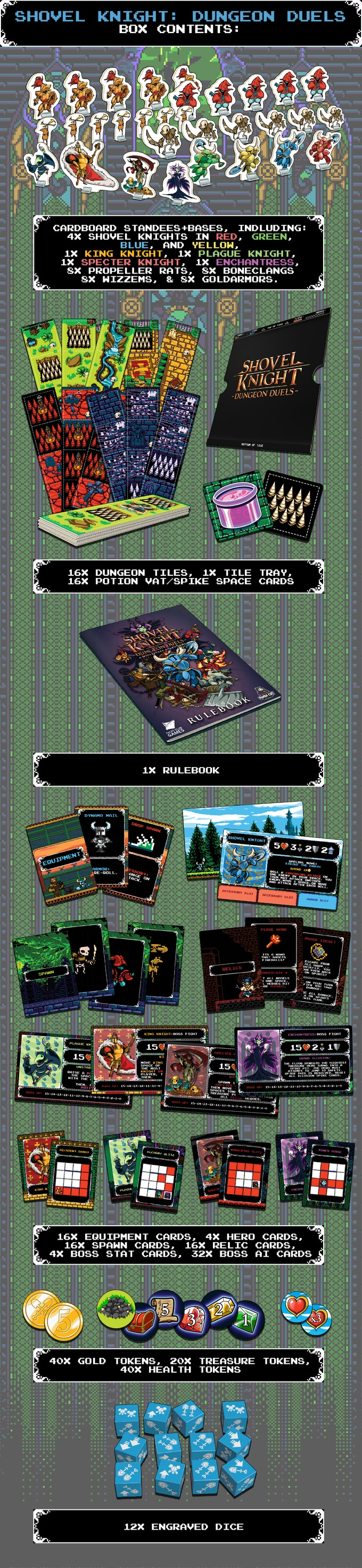 Shovel Knight: Dungeon Duels by Panda Cult Games — Kickstarter