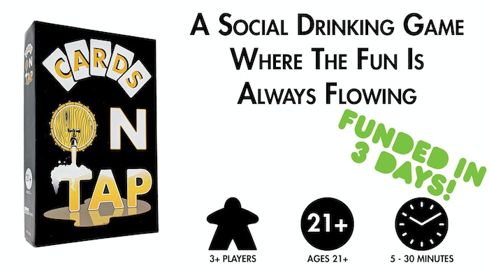 A Social Drinking Game Where The Fun Is Always Flowing