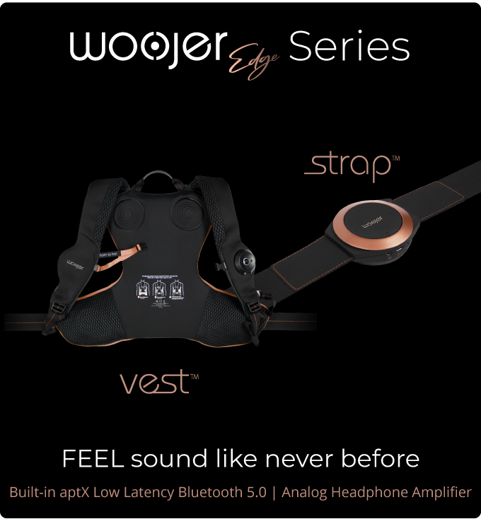 Woojer Edge | Immersive Experience that Lets you FEEL Sound