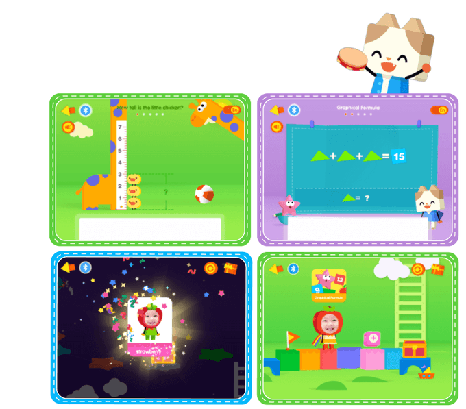 Math Adventure Mode — helps kids track everyday progress of learning.