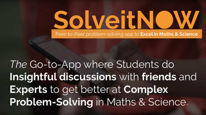 AI for Education is the future of Education…. Join the SolveitNOW revolution!