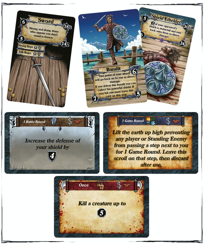Dead Throne - Open World Board Game with Mechanical Market