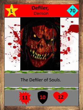Defiler Card