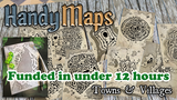 HandyMaps - Town & Village A5 Card Handouts for RPGs thumbnail