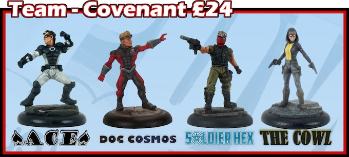 Supers Unlimited Miniatures