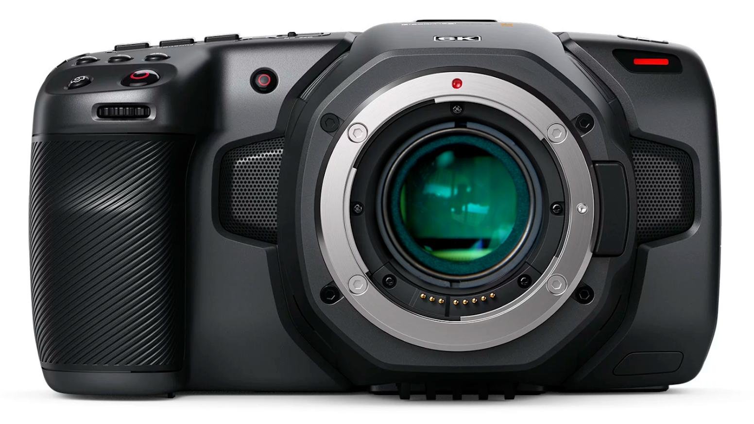 Focal reducer for Blackmagic Pocket Cinema Camera 6K
