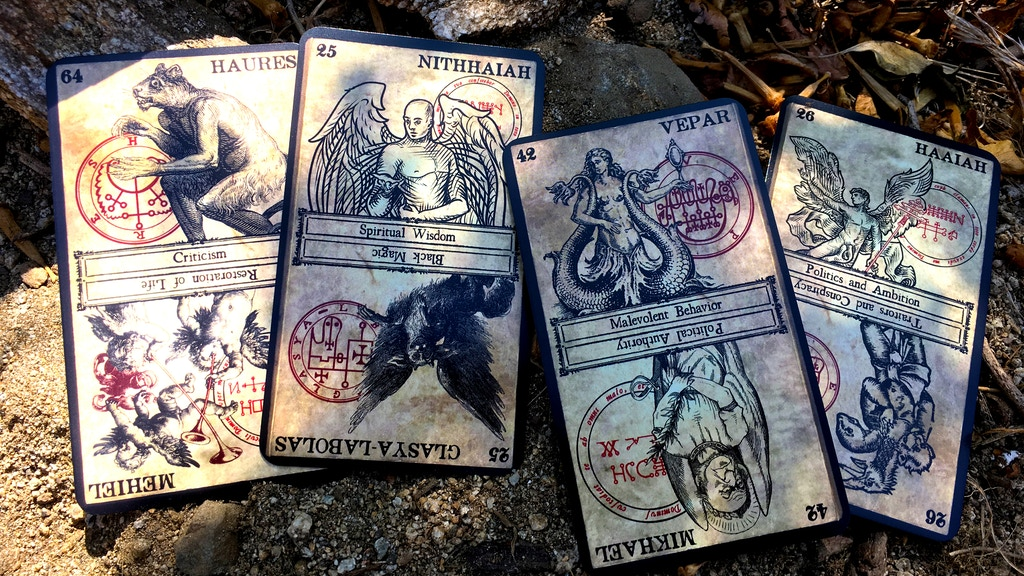 The Oracle of Heaven and Hell by Travis McHenry — Kickstarter