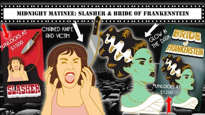 Bride of Frankenstein and Slasher